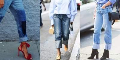 Стилисты показали, какие джинсы в моде в этом году. Фото
