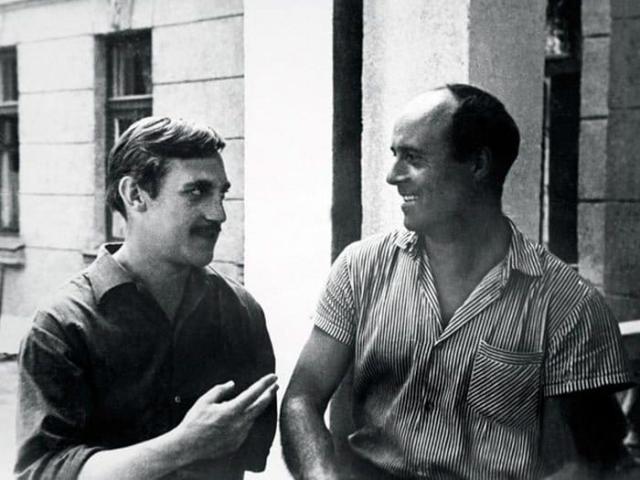Владимир Высоцкий и Станислав Говорухин, 1966 | Фото: echo.msk.ru