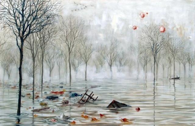 Наводнение. Автор: Lacey Bryant.