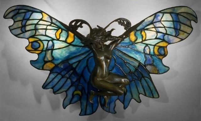 Эльфы в ювелирных украшениях ар-нуво - 7
