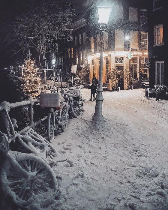 Зима - красивое время года.
