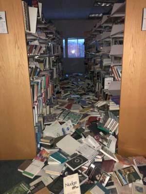 На Аляске произошло разрушительное землетрясение. Фото
