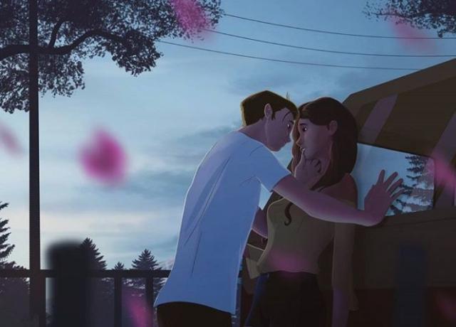 """Фото: """"Любовь это"""": чувственные иллюстрации, показывающие, что такое любовь (Фото)"""