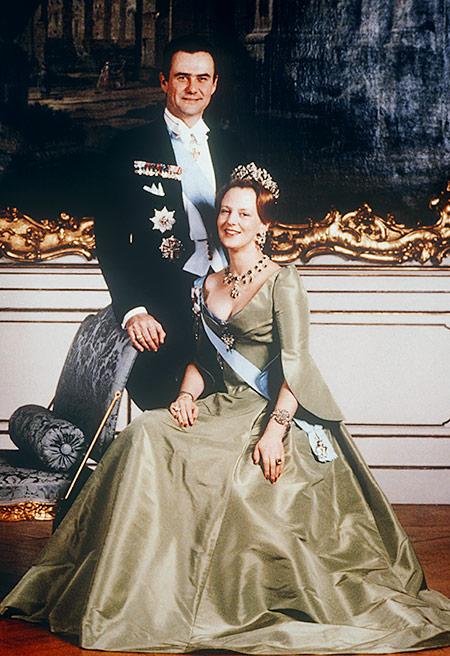 Королева Дании Маргарете II и принц Хенрик. / Фото: www.imperor.net