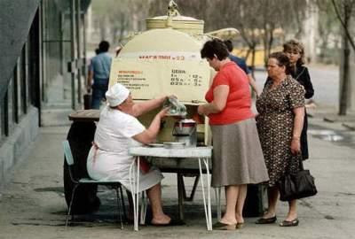 Торговля времен СССР в редких снимках. Фото