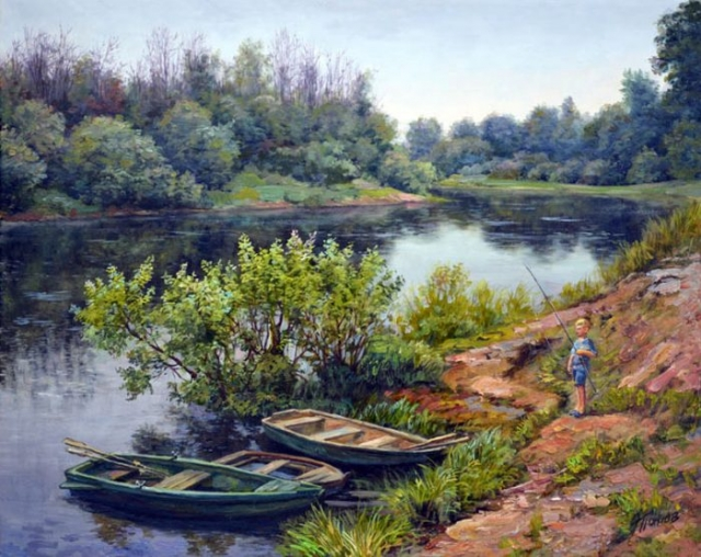 художник Эдуард Панов картины - 23