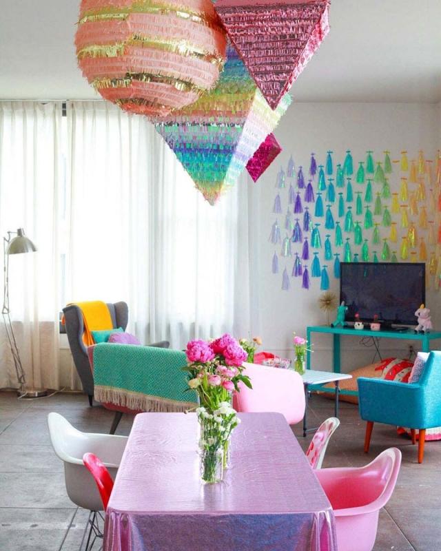 Фото: Эта девушка создала самую яркую квартиру в мире (Фото)