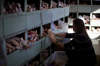 Так выглядит старейшая кукольная мастерская в мире. Фото