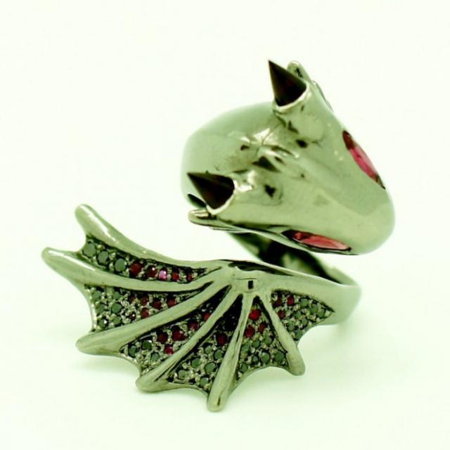 Кольца-драконы от MONVATOO London