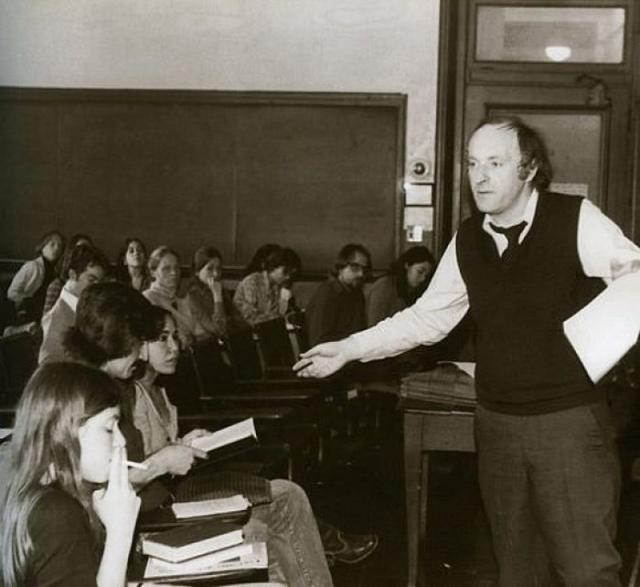 Лекция Бродского. / Фото из архива Мичиганского университета.