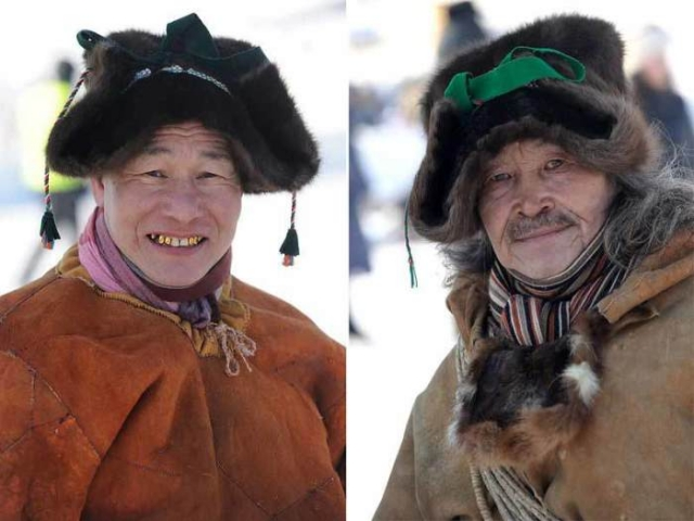 Выделанная кожа с природным красителем и современные шарфики/Фото:https://республика-саха-якутия.рф
