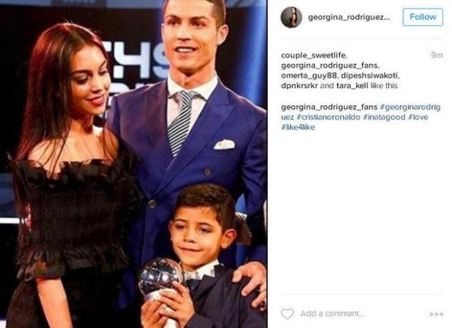 Криштиану Роналду (Instagram)