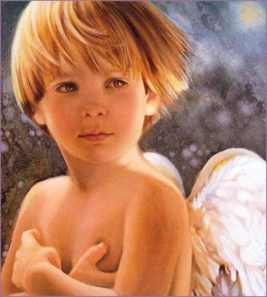 """Чувственные картины Нэнси Ноэль: """"Ангел"""""""
