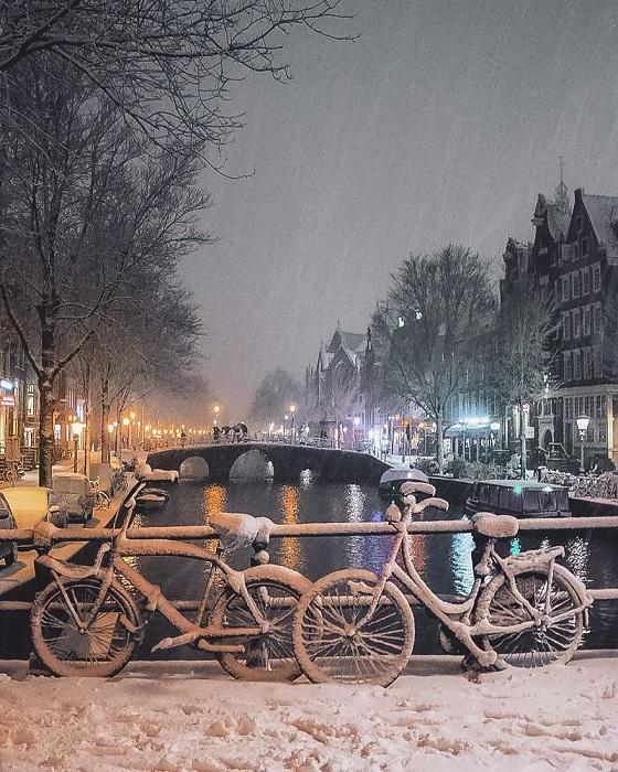 Романтика Амстердама.