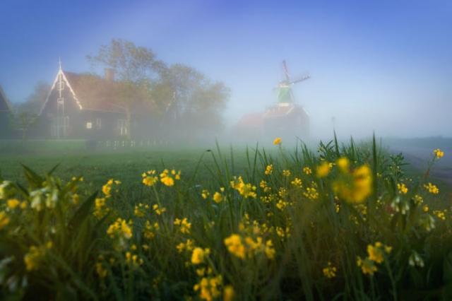 Деревня на севере Голландии.