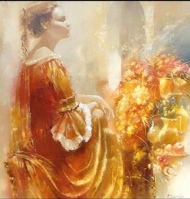 ЖЕНСКАЯ ДУША.Бог его знает, что там намешано,В нашей загадочной женской душе.Нитью искристою соткана ... - 7