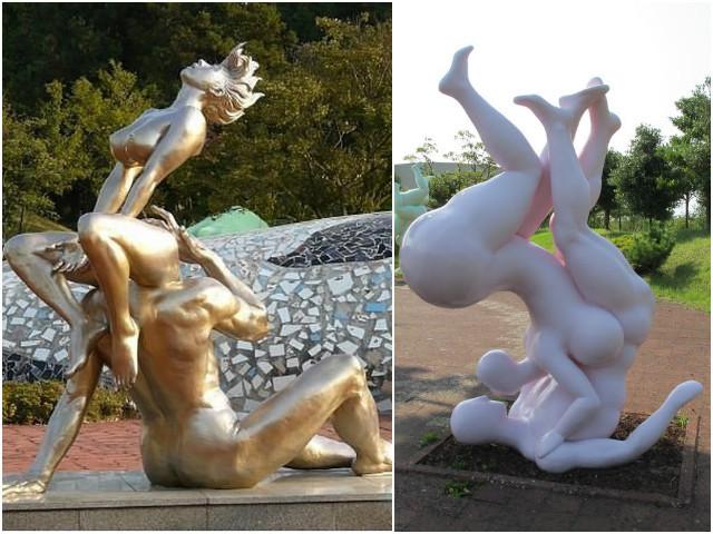 """ТОП-10 """"влюбленных"""" статуй в мире"""