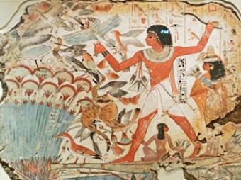 древнеегипетский барельеф