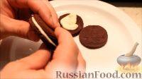 """Фото приготовления рецепта: Печенье """"Oreo"""" (Орео) в домашних условиях - шаг №17"""