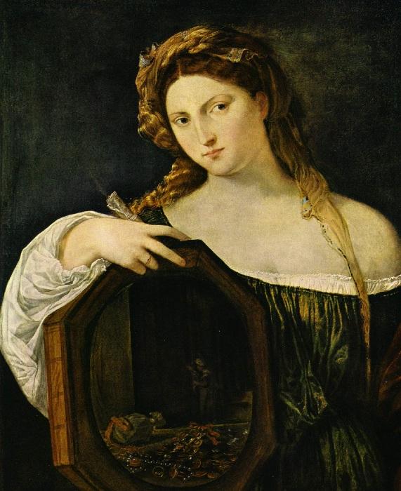 Аллегория бренности. (1516). Автор: Тициан Вечеллио.