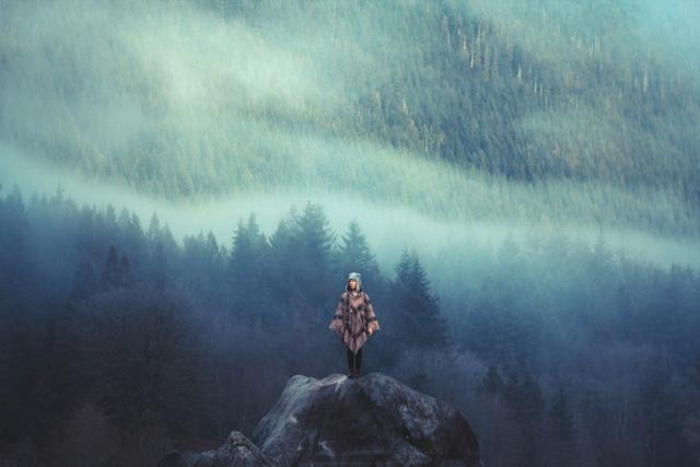 Единение с природой в снимках 21-летнего фотографа Элизабет Гэдд из Канады