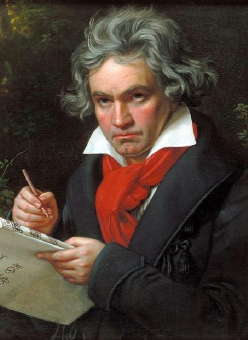 Портрет Людвига ван Бетховен, 1820 г. | Фото: thevintagenews.com.