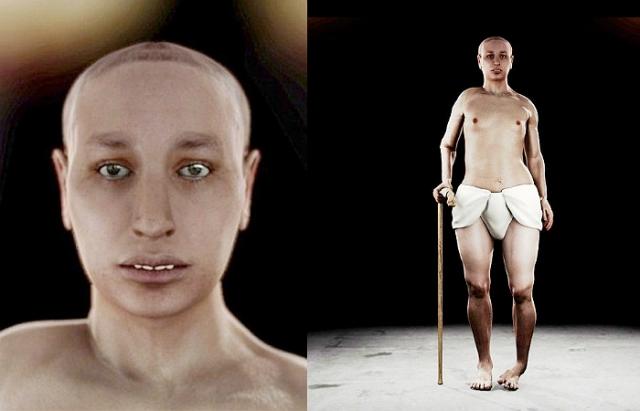 Реконструкция внешности Тутанхамона показывает явное вырождение из-за инцеста