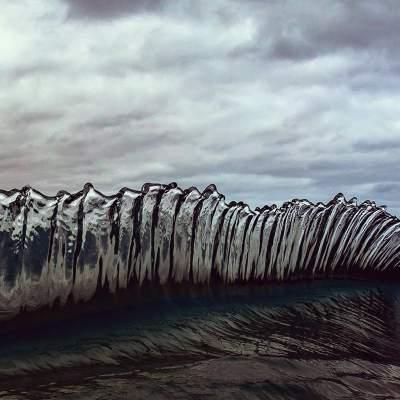 Фотограф показал красоту океанических волн. Фото