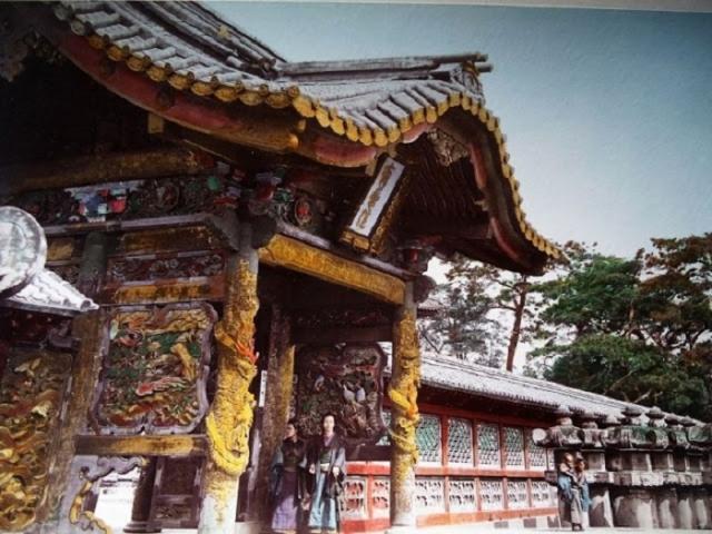 Раскрашенное фото храма второй половины XIX столетия.