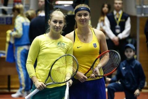 Свитолина принесла Украине победу над Австралией