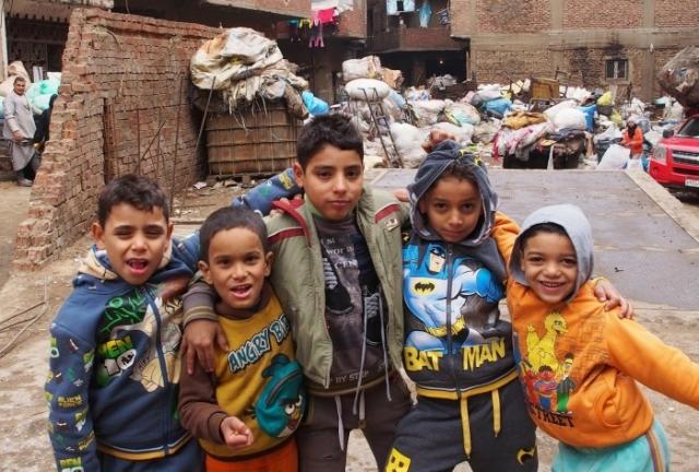 Юное поколение мусорщиков Заббалина.