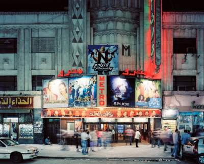 Фотограф путешествует по миру в поисках красивых кинотеатров. Фото