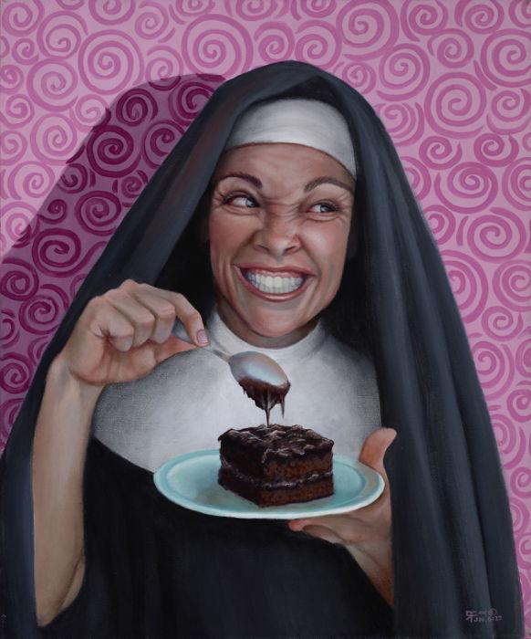 Сестра Дорис в сговоре с Дьяволом. Автор: Christina Ramos.