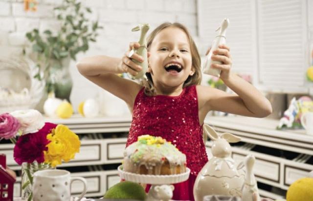 Дочь Андрея Доманского Кира в пасхальной фотосессии