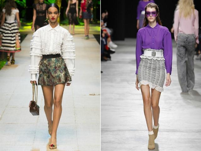 Оригинальные мини юбки.