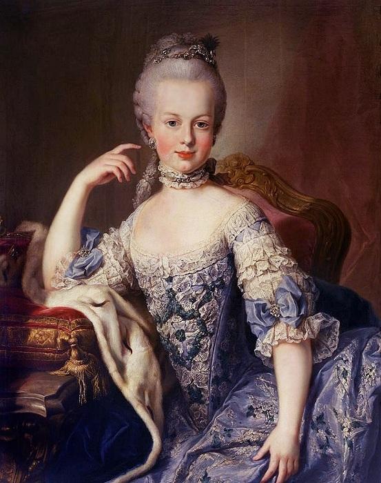Мария-Антуанетта. Мартин ван Майтенс, 1767 год. | Фото: diletant.media.