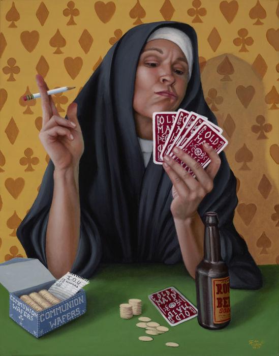 От плохих привычек трудно избавиться. Автор: Christina Ramos.