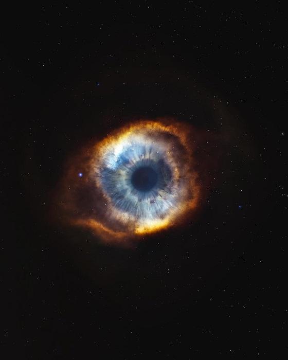 Небесный глаз - одновременно завораживающее и фантастическое зрелище.