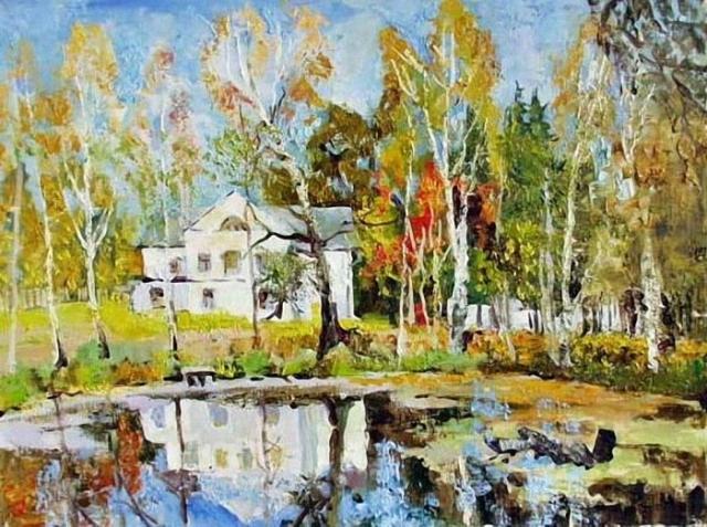 художник Валерий Изумрудов картины - 04