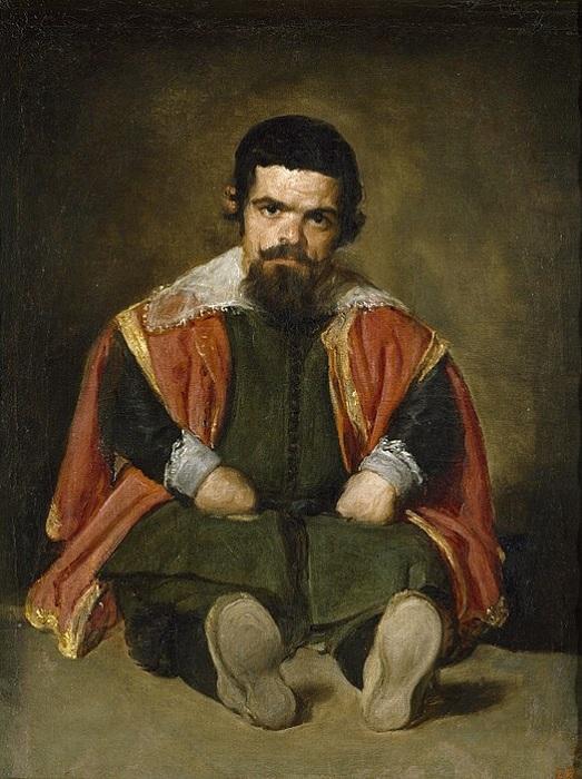 «Портрет придворного карлика дона Себастьяна дель Морра». Автор: Диего Веласкес.
