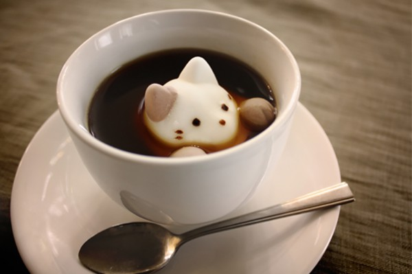 Котики-зефирки для кофе