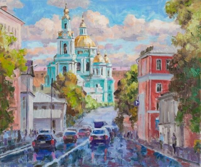 художник Валерий Изумрудов картины - 15