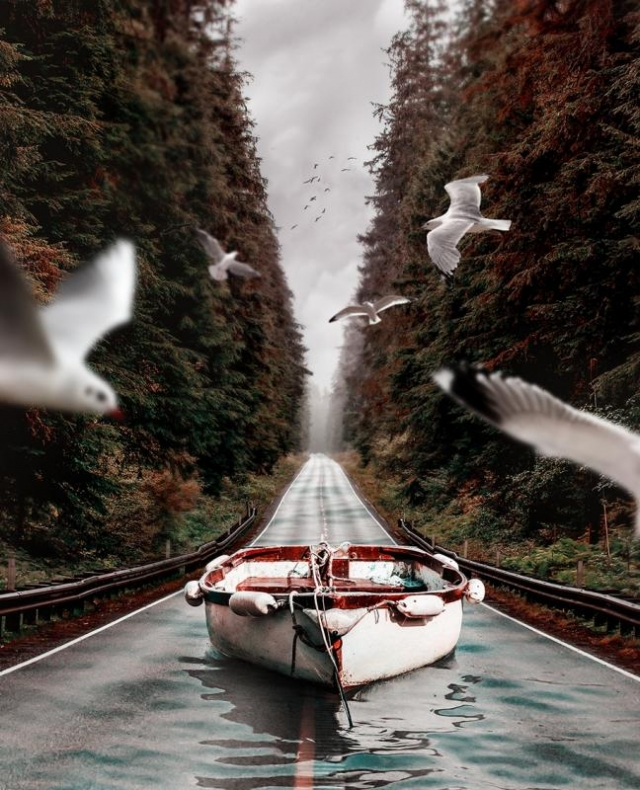Альтернативные реальности художника Хусейна Шахина (Huseyin Sahin)