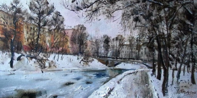 художник Василий Пешкун картины – 10