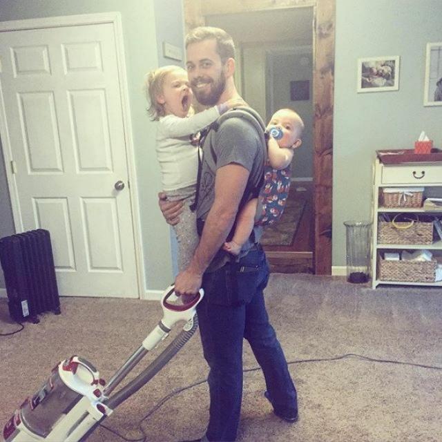 Фото: Трогательные снимки заботливых папочек, которые испытывают счастье от своего отцовства (Фото)