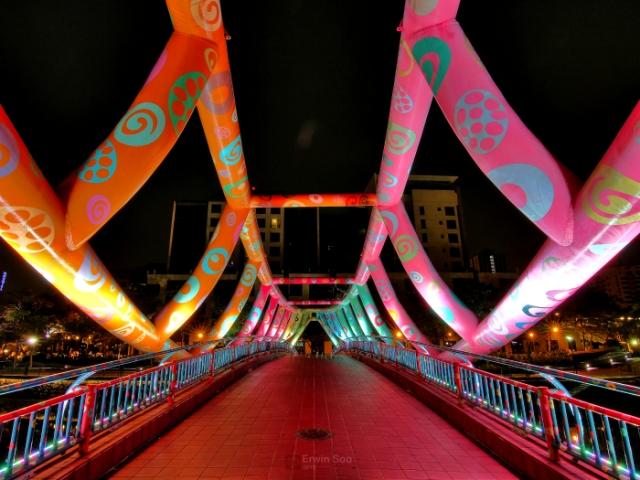 Мост Алкафф в Сингапуре.