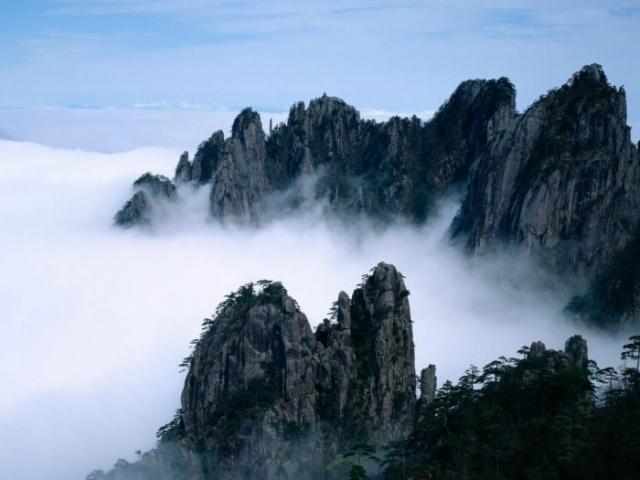 китайские горы фото – 11