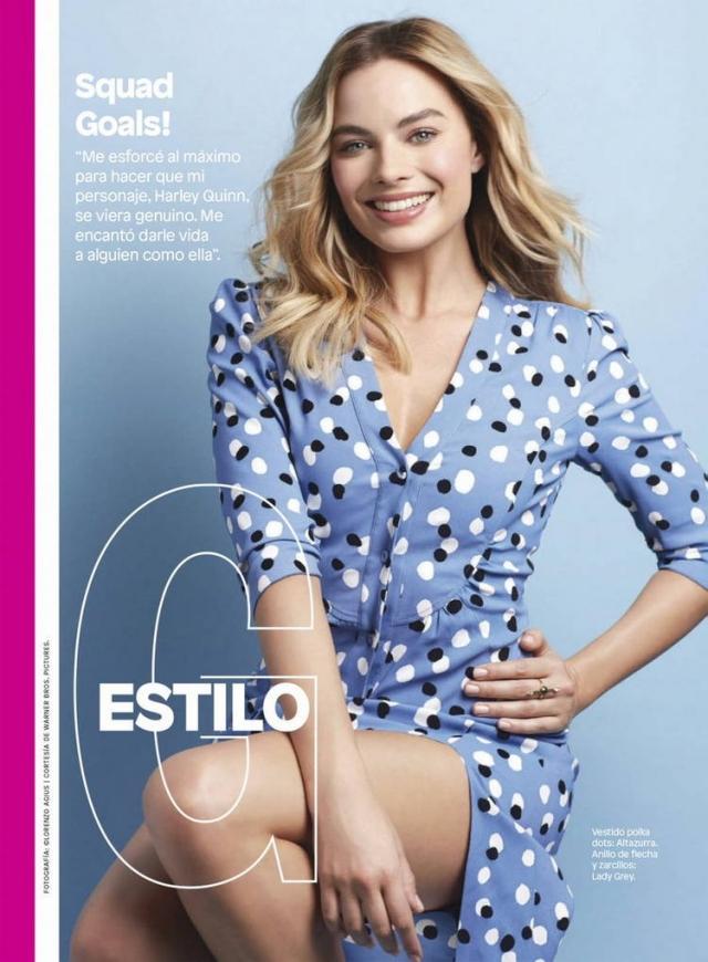 Марго Робби в фотосессии для журнала Glamour Mexico (Август 2016)