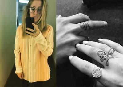 Звезды, сделавшие странные татуировки. Фото