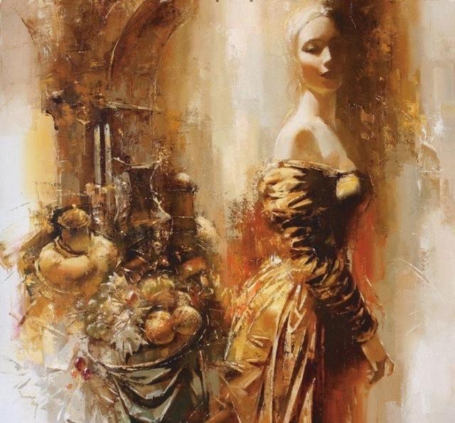 ЖЕНСКАЯ ДУША.Бог его знает, что там намешано,В нашей загадочной женской душе.Нитью искристою соткана ... - 8